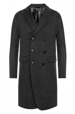 Coat with peak lapels od Giorgio Armani